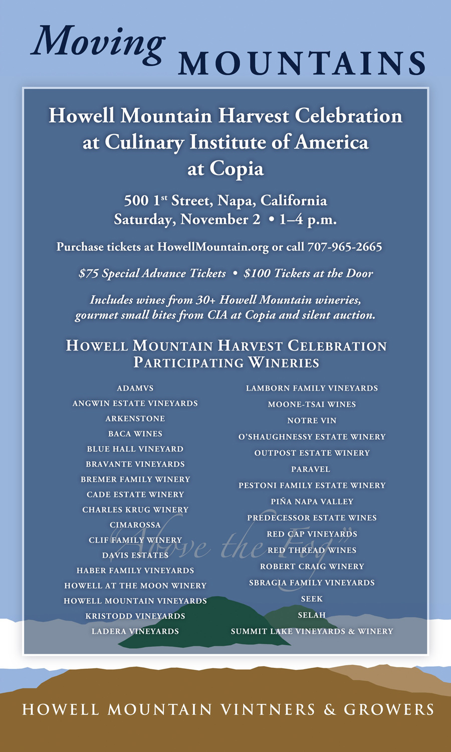 Howell Mountain Harvest Celebration