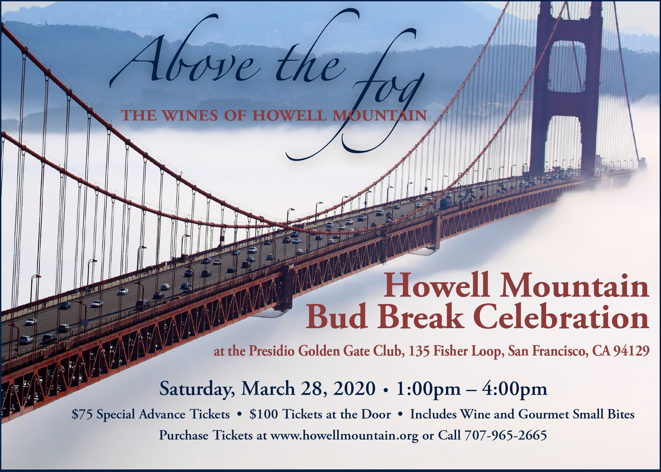 Howell Mountain Bud Break Celebration