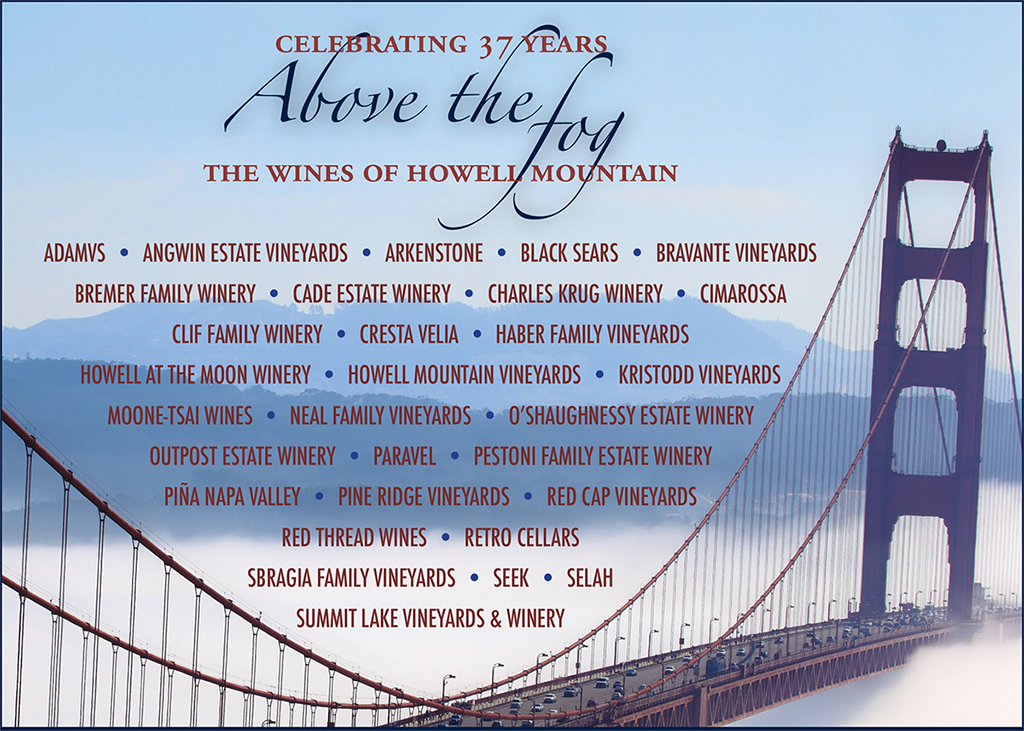 Above the Fog Participating Wineries List